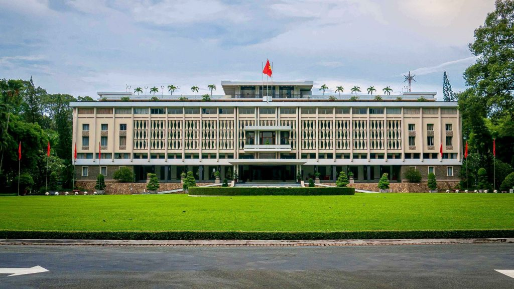 The Independence Palace, or Reunification Palace, VIetnam