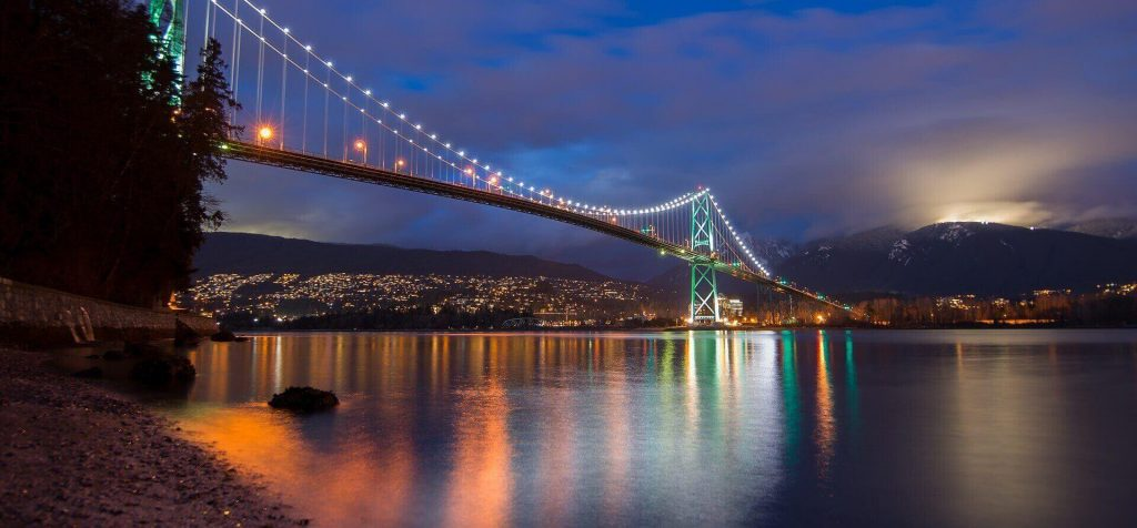 Vancouver, Canada has one of the most interesting adventure activities