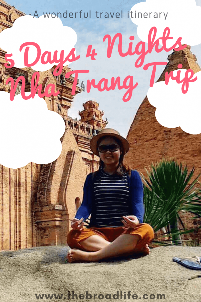 5 Days 4 Night Nha Trang itinerary - The Broad Life's pinterest board