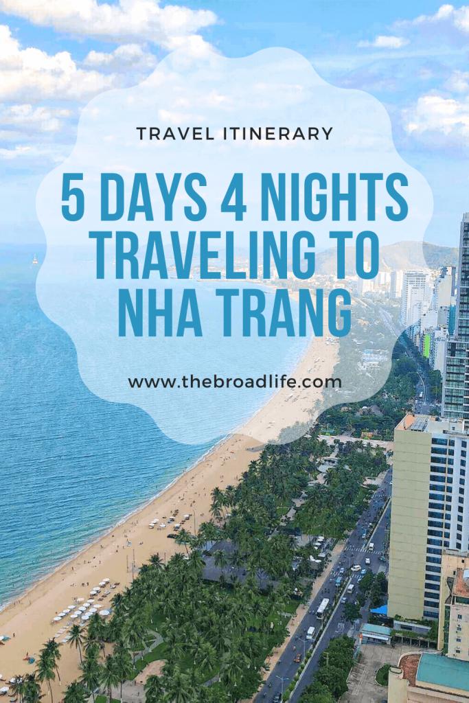 5 Days 4 Nights Nha Trang Trip - The Broad Life's Pinterest Board