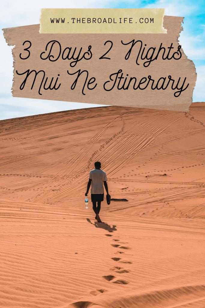 3 days 2 nights mui ne trip - the broad life's pinterest board