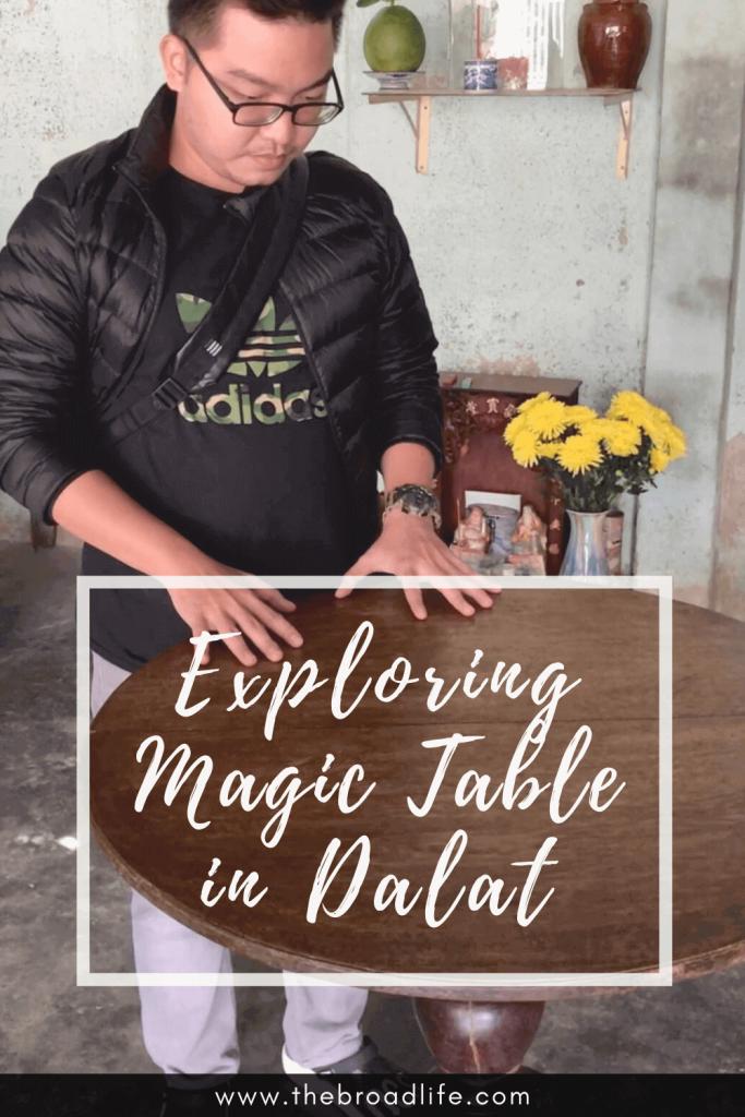 Exploring Magic Table in Dalat - The Broad Life's pinterest board