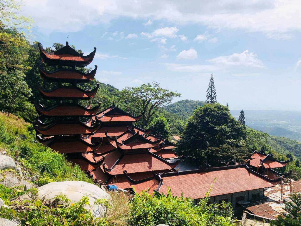 Scene at Ta Cu mountain, Phan Thiet, Vietnam