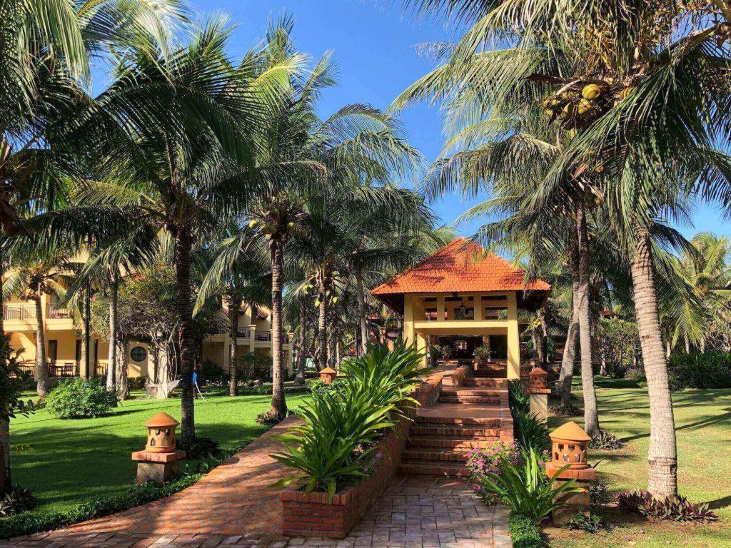 Inside Pandanus Resort, where I stayed in my 3 days 2 nights Mui Ne company-trip