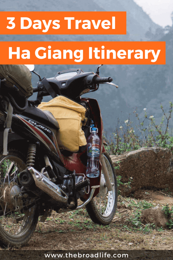 3 Days Ha Giang Itinerary - The Broad Life's Pinterest Board
