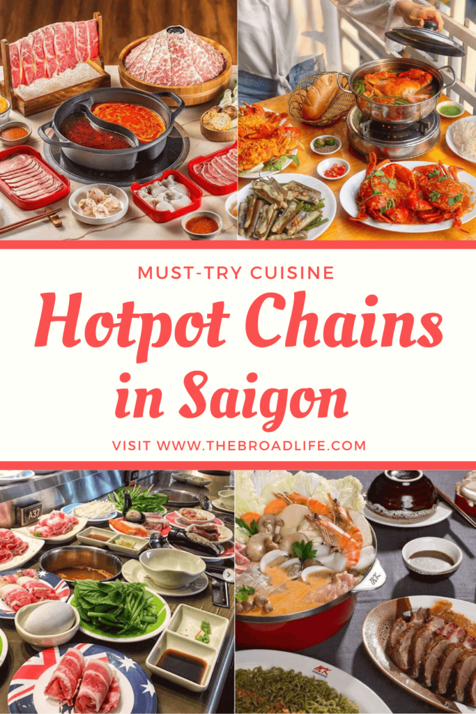 Hotpot chains in saigon - the broad life's pinterest board