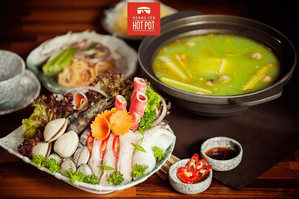 hoang yen hotpot, own of the well-known hotpot chains in saigon