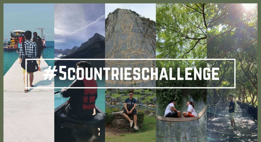 5 countries challenge - the broad life