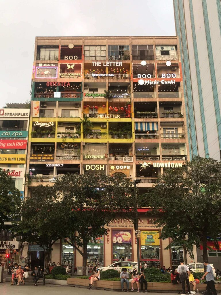 The whole Cafe Apartment at 42 Nguyen Hue street, District 1, HCMC