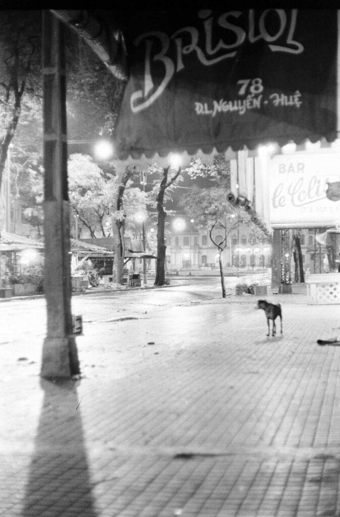 Nguyen Hue Boulevard, Saigon, Vietnam in 1964.