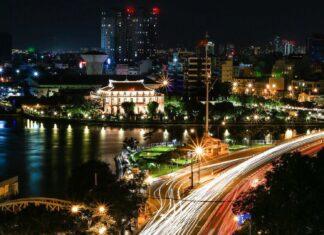 Nha Rong Harbor in Ho Chi Minh City, Vietnam