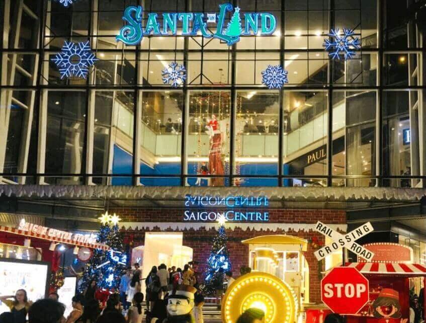 In front of Takashimaya shopping centre.