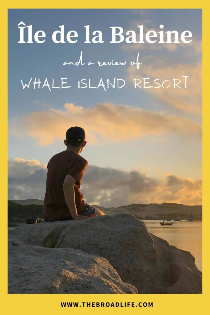 Île de la Baleine and a Review of the Private Whale Island Resort - The Broad Life's pinterest board