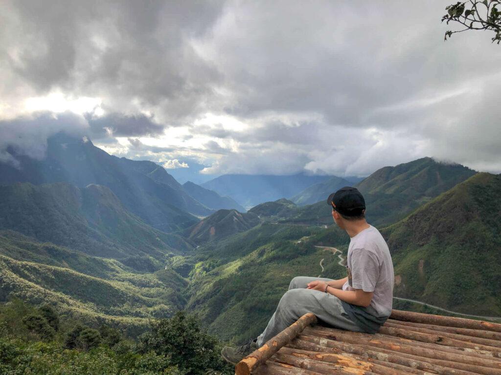Travel photography at O Quy Ho pass
