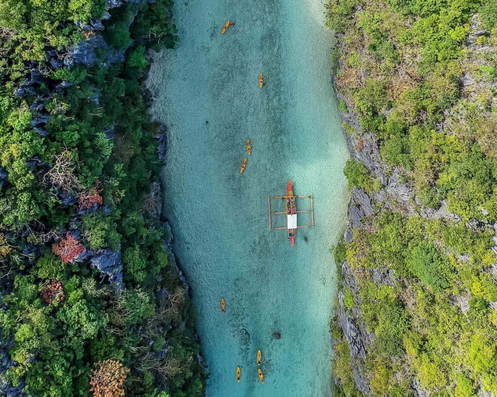 El Nido, a destination visited in Philippines 7 days itinerary