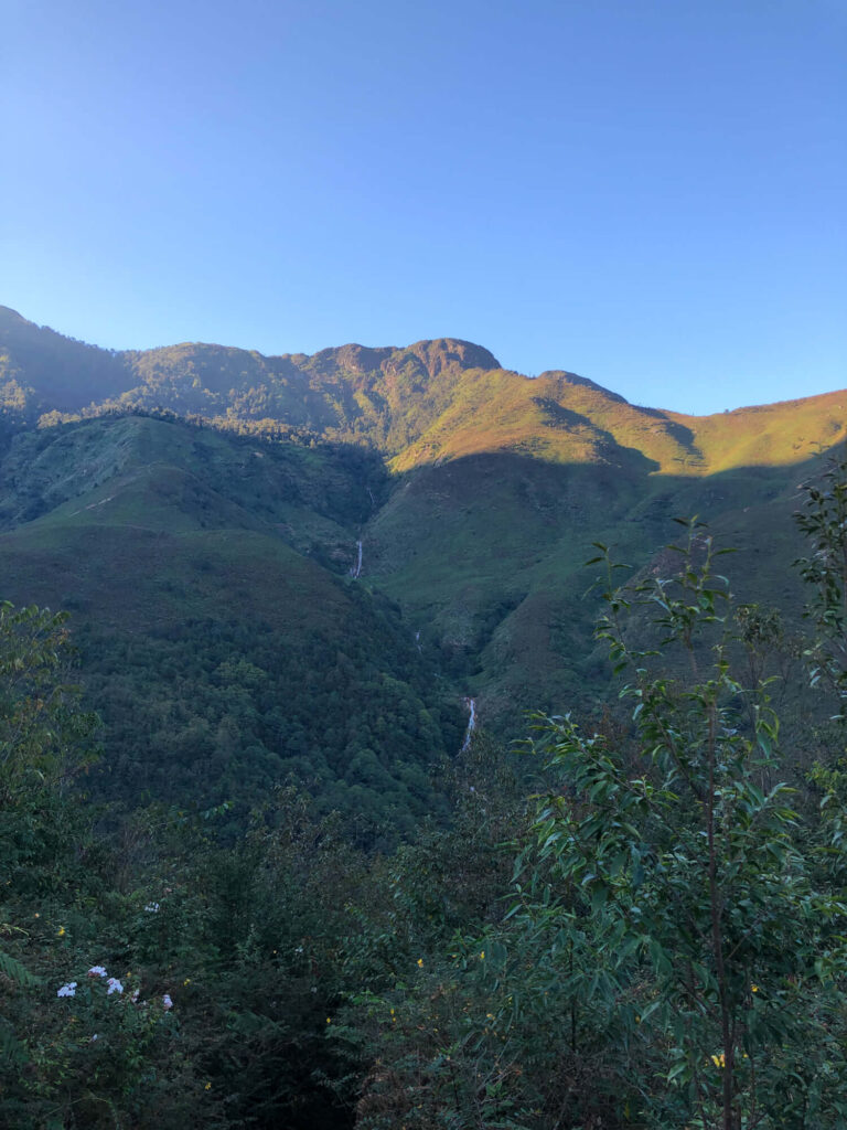 The view around Ky Quan San