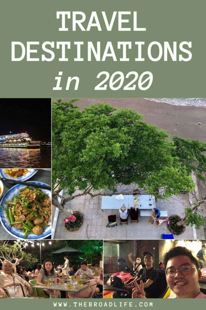 Travel destinations in 2020 - The Broad Life's Pinterest Board