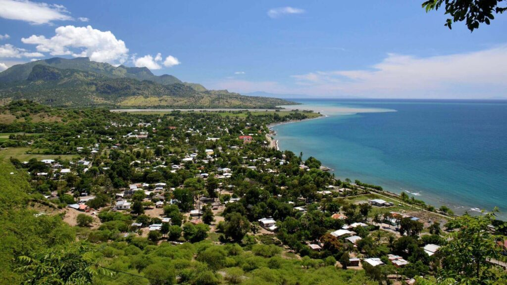 Manatuto, a city of East Timor in travel restrictions in 2021