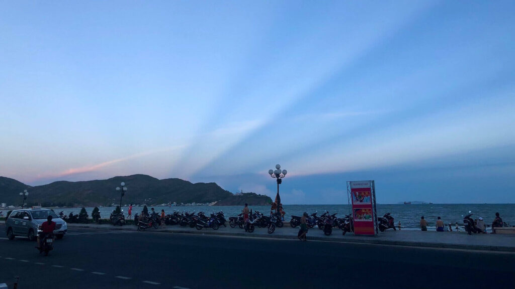 The afternoon on Quy Nhon beach - one of my travel destinations in 2020