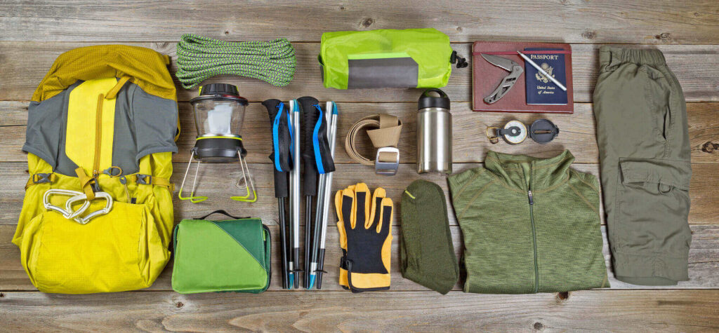 what things do you need for backpacking