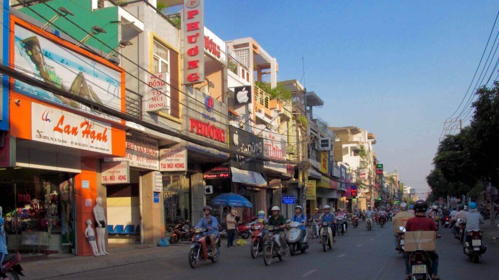 Pham Van Hai street, Tan Binh district, Ho Chi Minh City