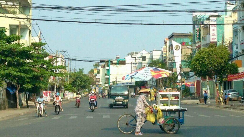 Ten Lua street, Binh Tan district, Ho Chi Minh City
