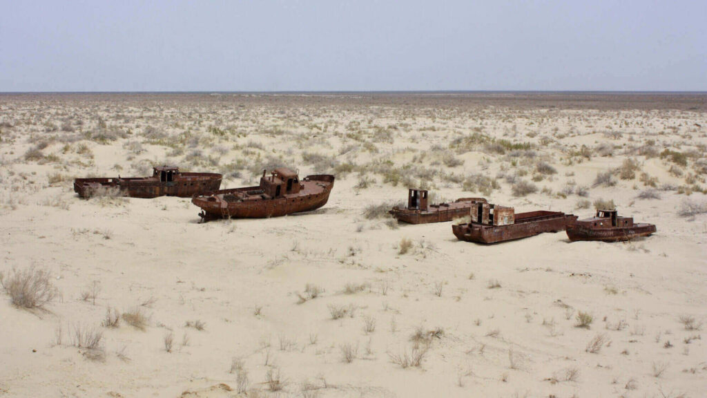 The ghost ships of the Aral Sea
