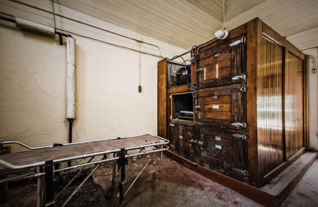 a room in willard asylum for the chronic insane