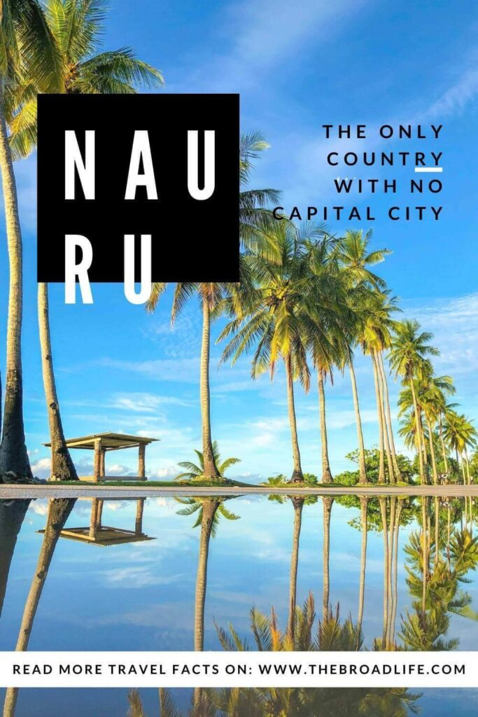 Nauru the country with no capital city - the broad life's pinterest board