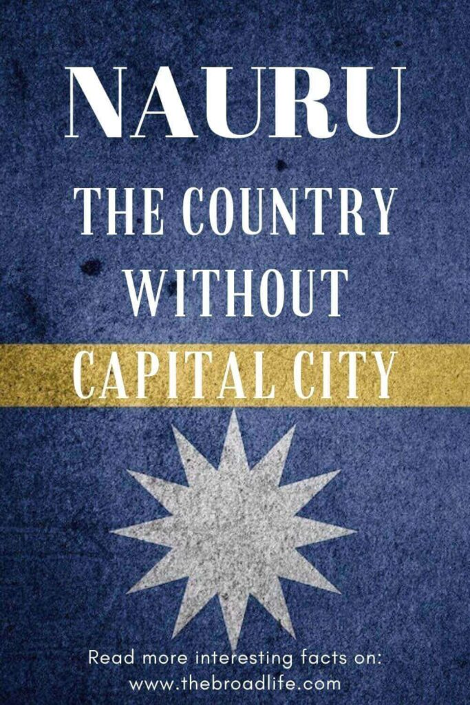 Nauru the country without capital city - the broad life's pinterest board