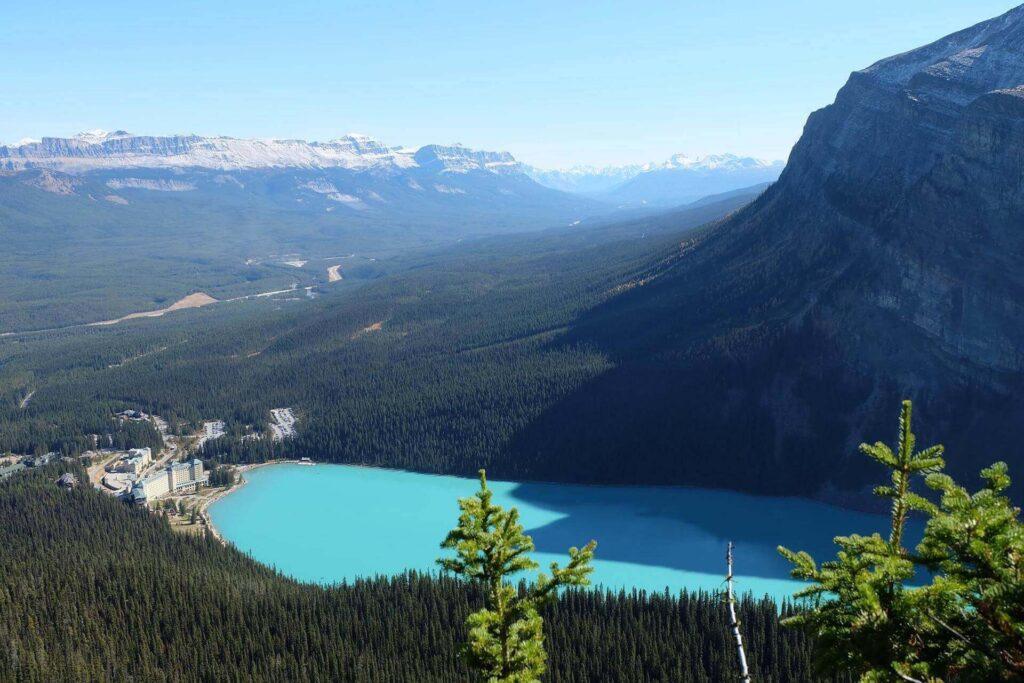 Lake Louise as a turquoise gem