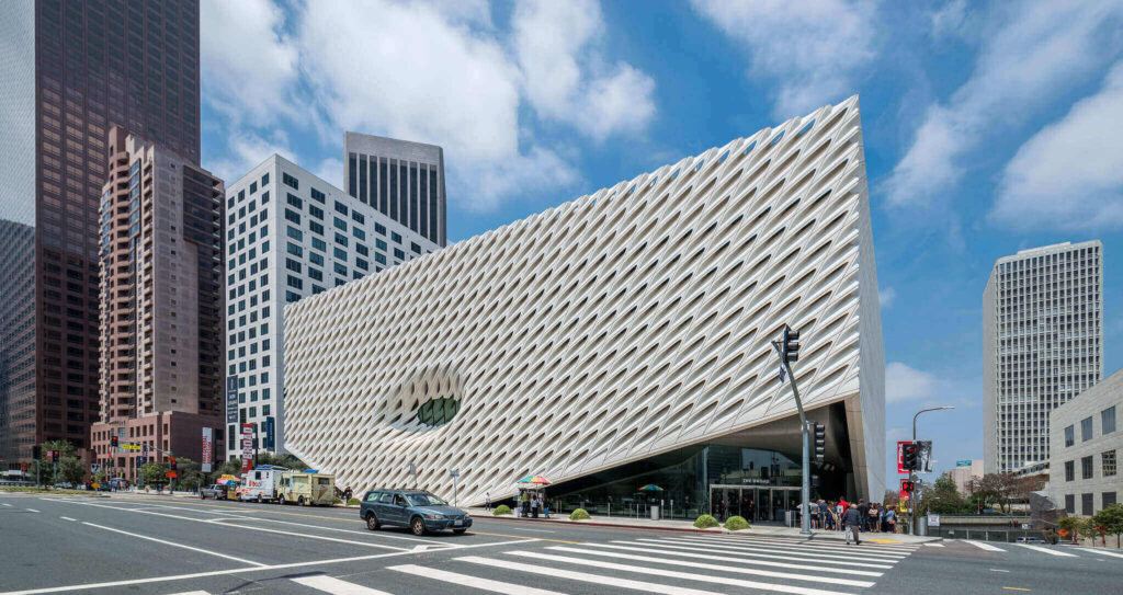 The Broad Museum offers virtual museum tours in Los Angeles