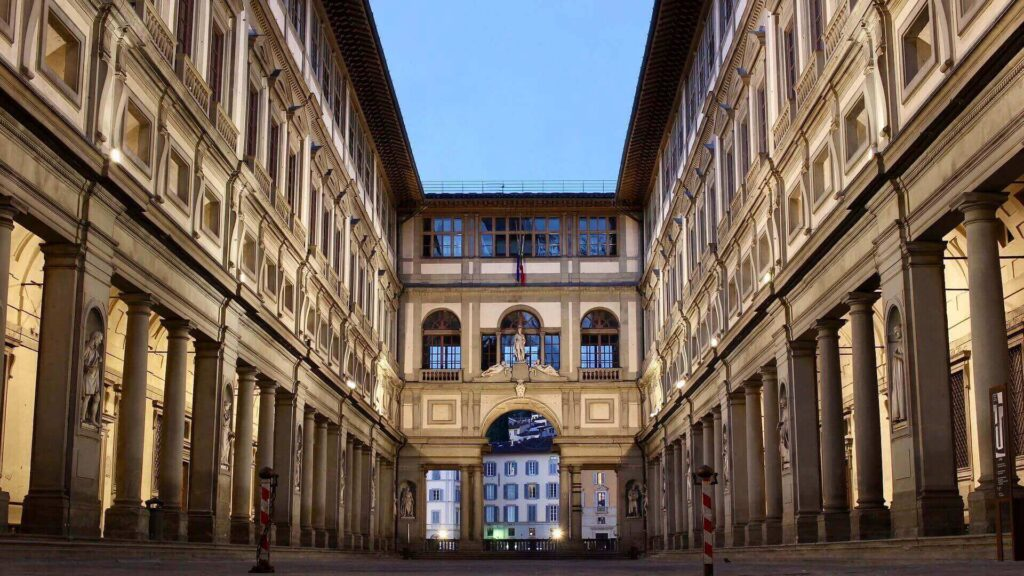 Uffizi Gallery in Florence has its virtual museum tours