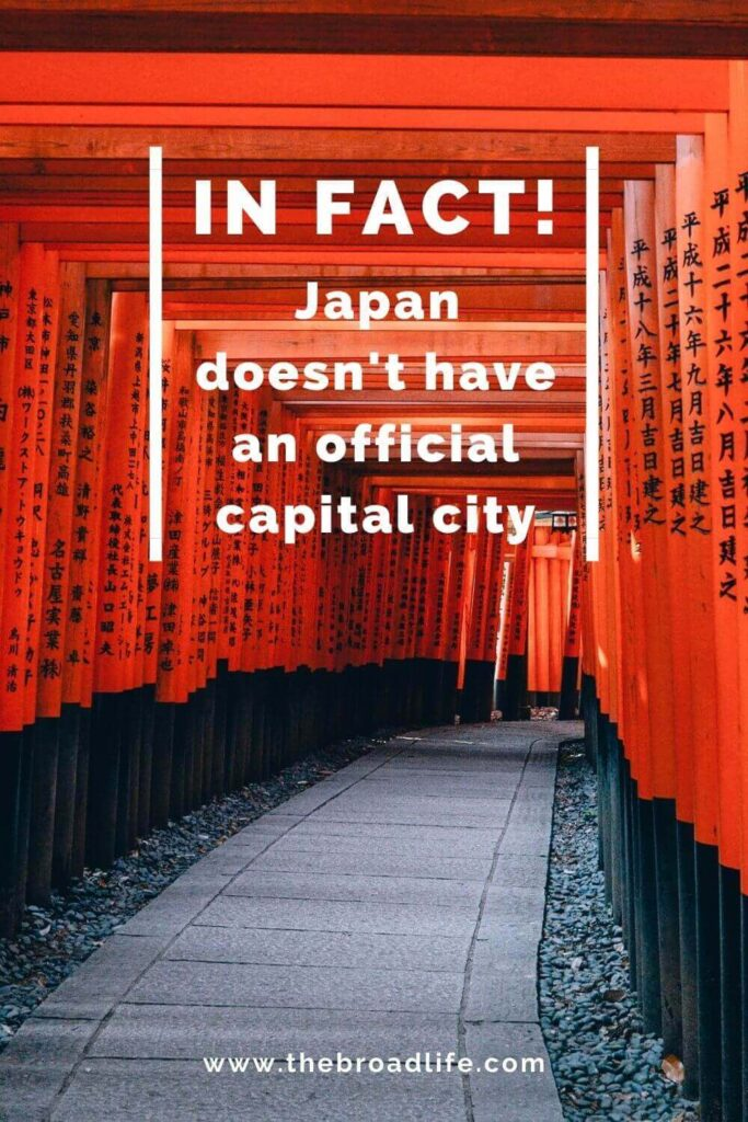 there is no official capital city of japan - the broad life's pinterest board