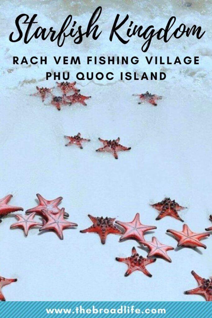 starfish kingdom rach vem fishing village phu quoc island - the broad life's pinterest board