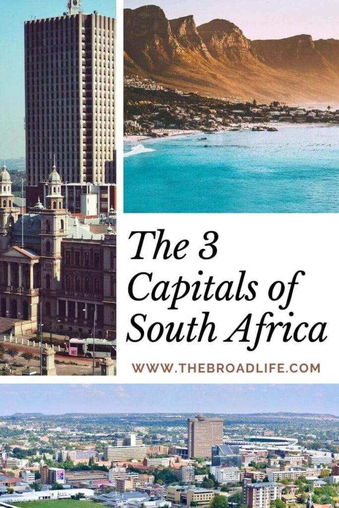 3 capitals of south africa - the broad life's pinterest board