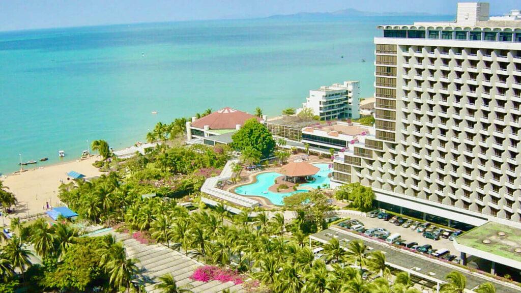 Ambassador City of Jomtien is the biggest hotel in Thailand