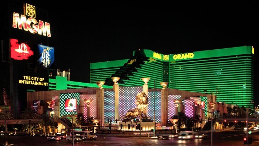 MGM Grand Hotel Casino is one of the biggest hotels in the world