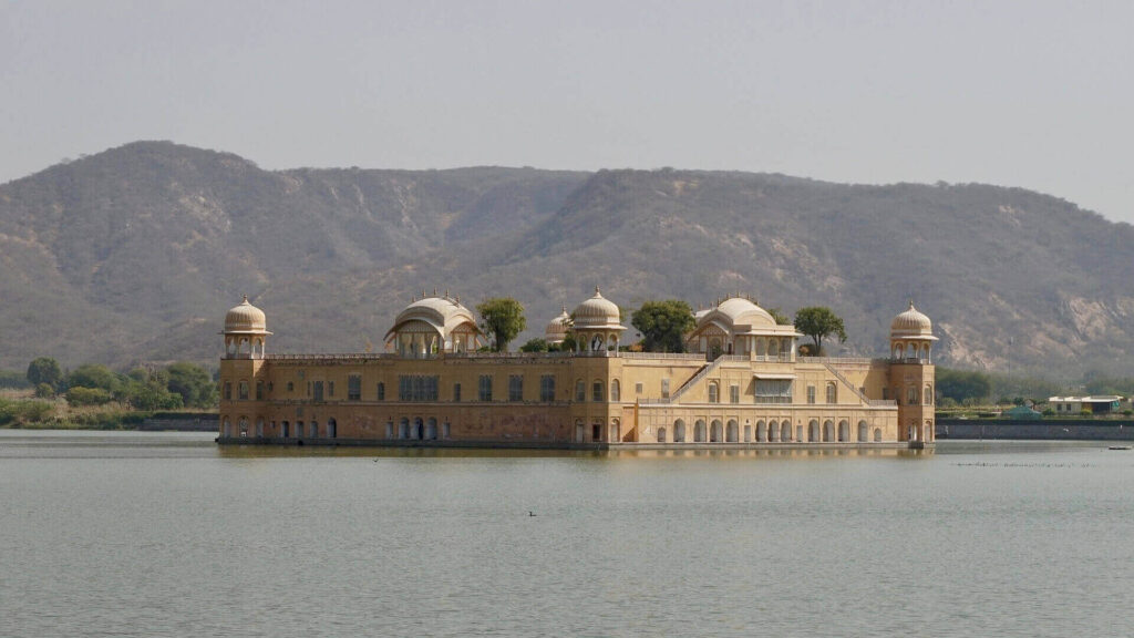 Jal Mahal in Jaipur, India