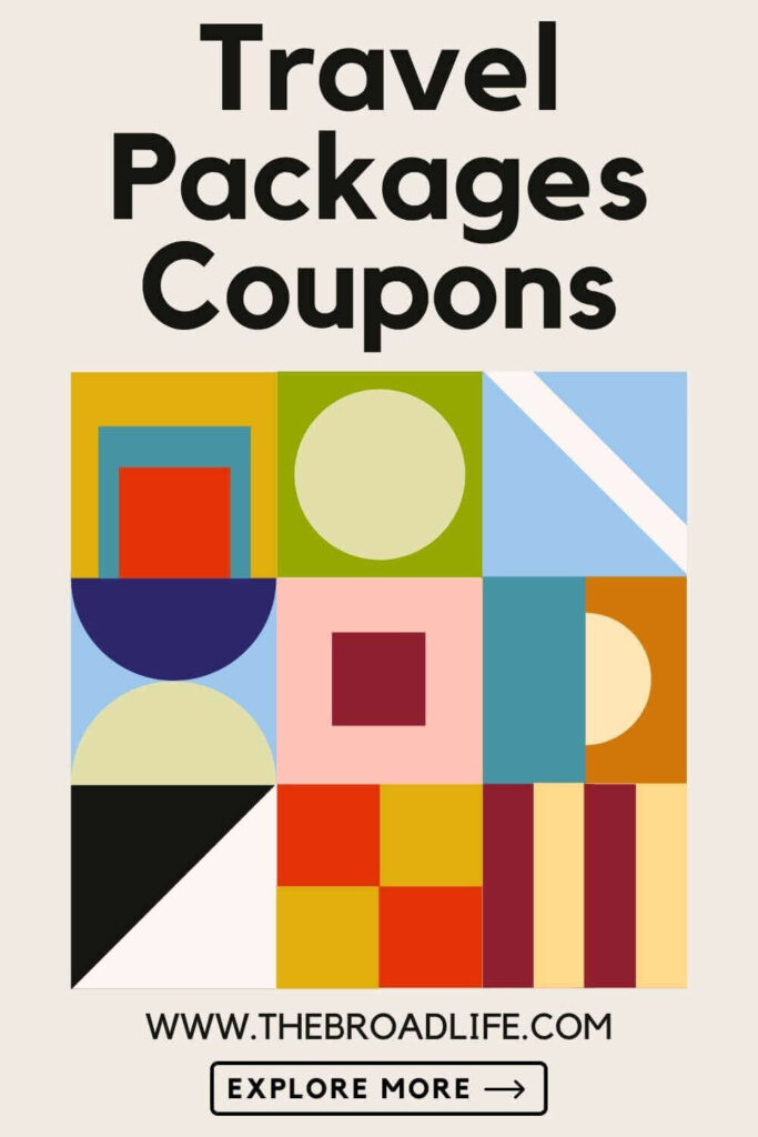 travel packages and coupons - the broad life's pinterest board