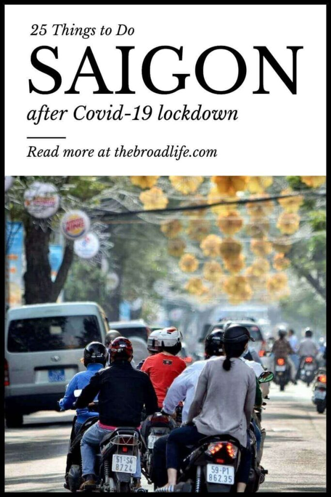 25 cool things to do in saigon after covid-19 lockdown - the broad life's pinterest board