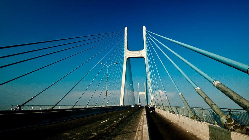 Phu My cable-stayed bridge